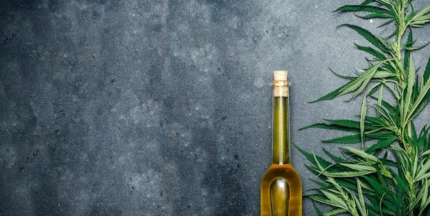 Olej z konopi indyjskich (kanabidiol).