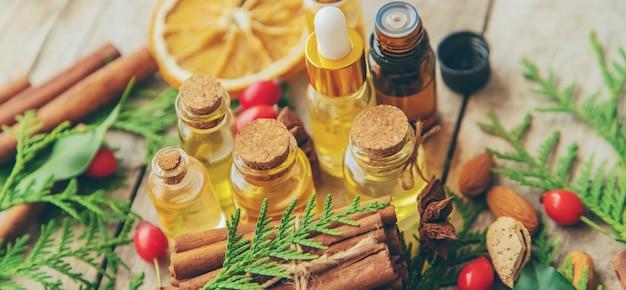 Olejki eteryczne w małej butelce