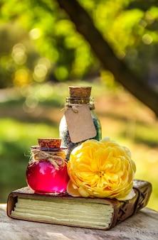 Olejki eteryczne z róży i sól