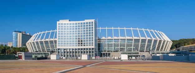 Olimpijski narodowy kompleks sportowy w kijowie na ukrainie