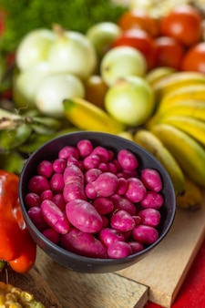 Olluco lub chuguas i więcej warzyw i owoców z ameryki południowej