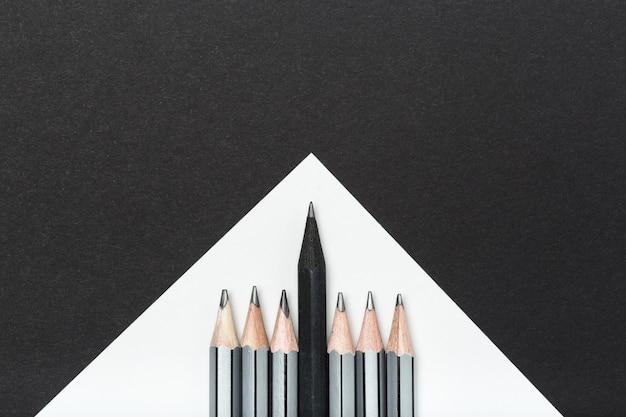 Ołówki z bliska