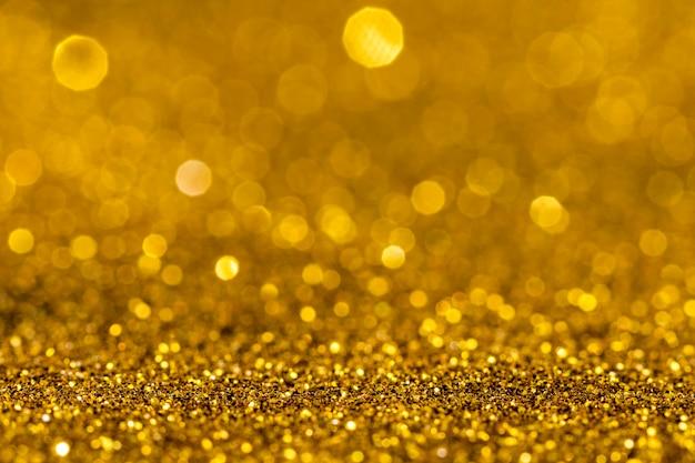 Olśniewający złoty brokat