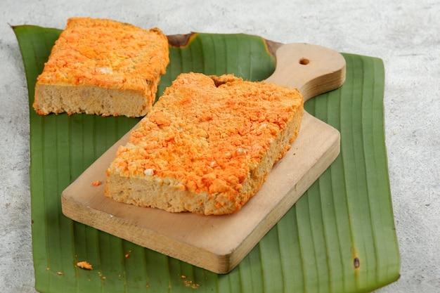 Oncom to tradycyjna żywność pochodząca z indonezji oncom to pożywne jedzenie