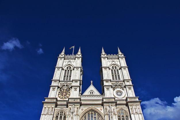 Opactwo westminsterskie w londynie, anglii, wielkiej brytanii