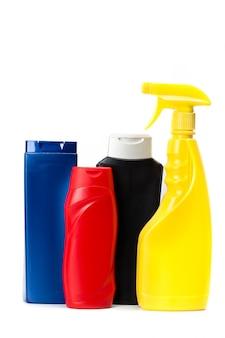 Opakowania plastikowe do chemii gospodarczej.