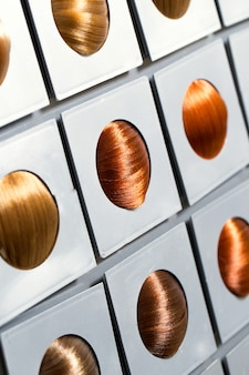 Opcje odcienia włosów