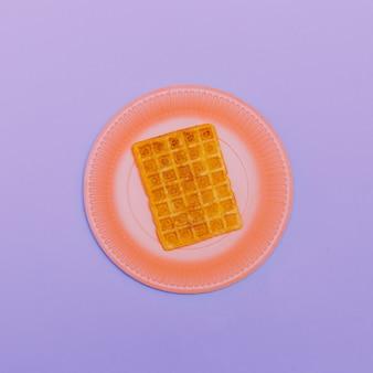 Opłatek. minimalistyczne kolory art candy