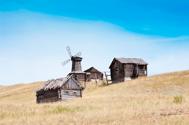 Opuszczona wieś, rosja