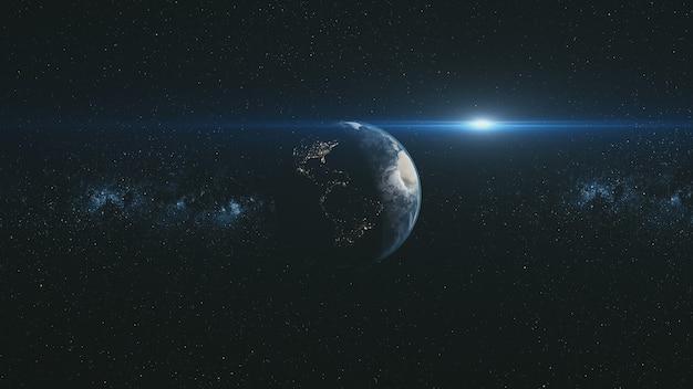 Orbitować wokół ziemi w pobliżu meteorytu
