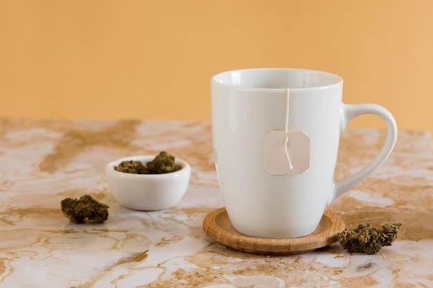 Organiczna kompozycja herbaty cbd