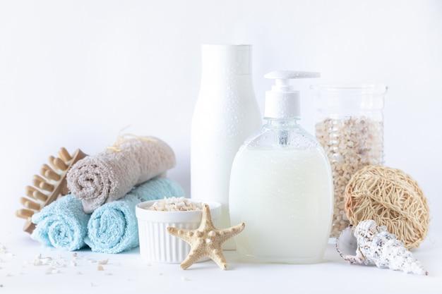 Organiczne kosmetyki spa do twarzy i ciała