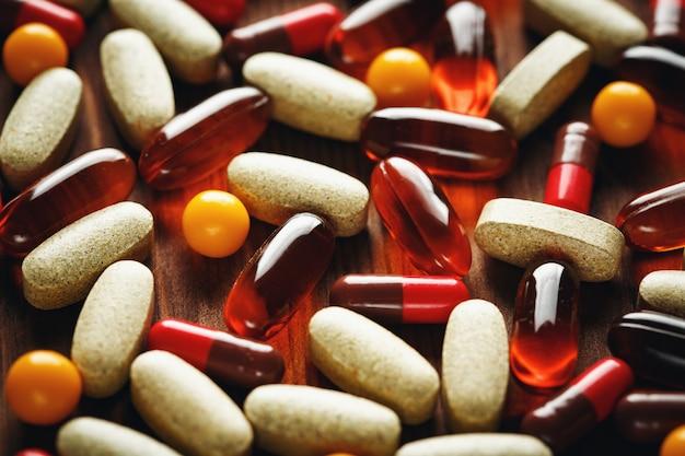 Organiczne leczenie dietetyczne, kapsułki witaminowe