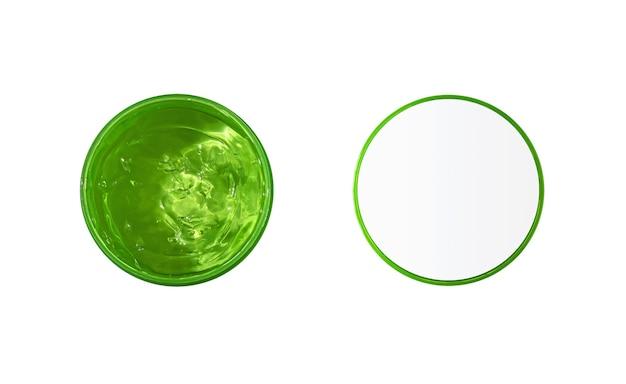 Organiczny żel z aloesu lub ogórka do pielęgnacji skóry