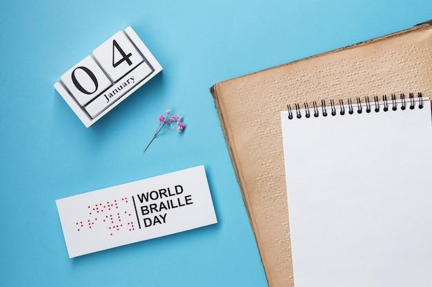 Organizacja światowego dnia braille'a