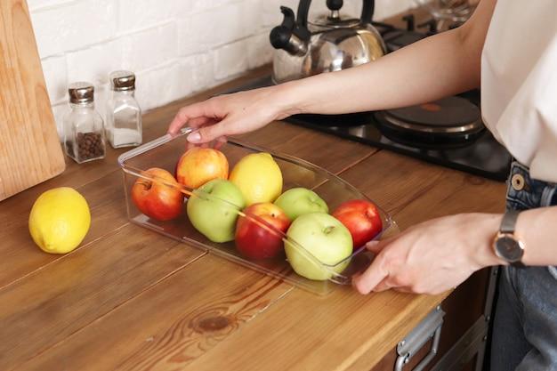 Organizer do przechowywania owoców i warzyw