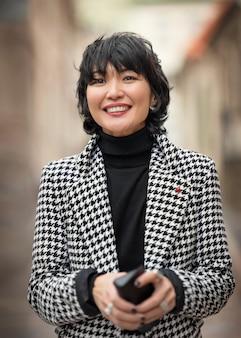 Orientalna biznesowa kobieta