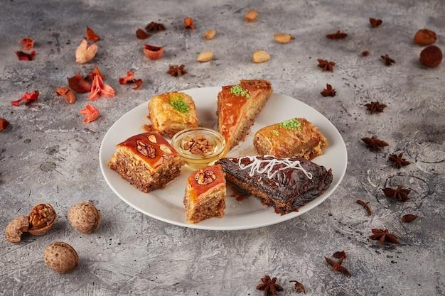 Orientalne słodycze, różne