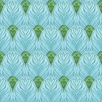 Orientalny bez szwu niebieski wzór. abstrakcyjne tło. drukuj na papierze do pakowania, tekstyliach, tkaninach, modzie, kartach, zaproszeniach ślubnych