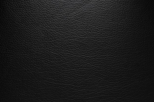 Oryginalne czarne tło tekstury skóry leather