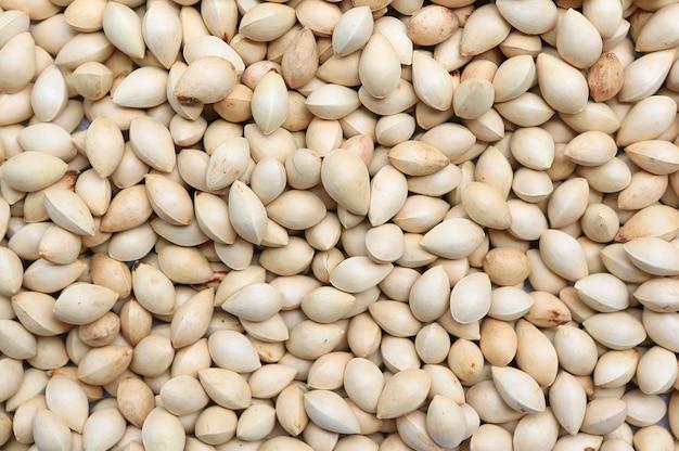 Orzechy pistacjowe jako tekstura tło.