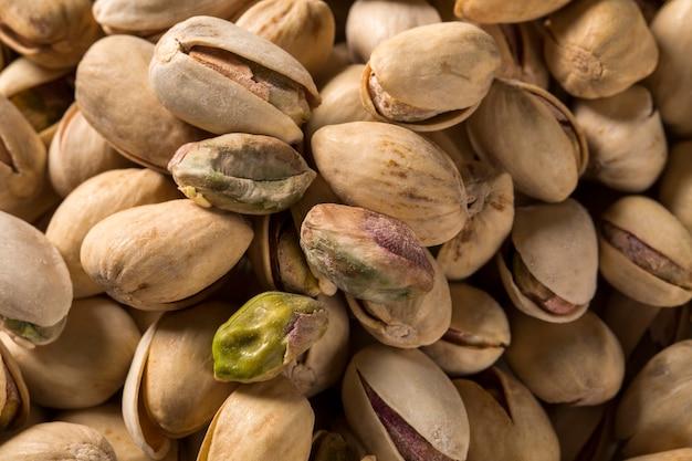 Orzechy pistacjowe z bliska