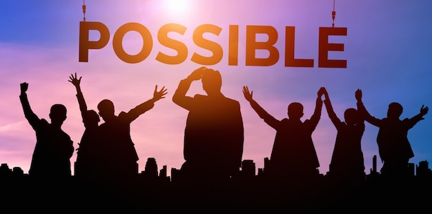 Osiągnięcia i sukces celu biznesowego