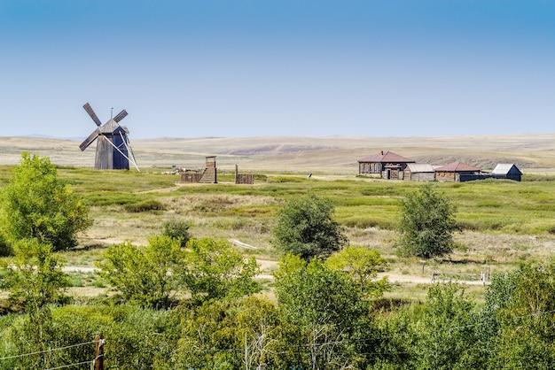 Osiedle wiatraków i kozaków