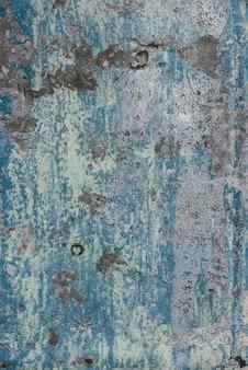 Ośniedziała stara metal tekstura z korodowania i farby tłem