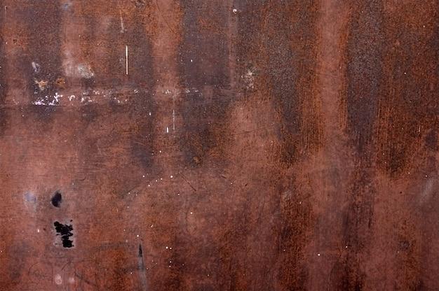 Ośniedziały metal tekstury tło. streszczenie tło grunge.