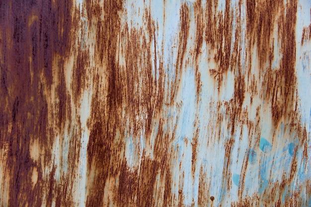 Ośniedziały metal tekstury tło