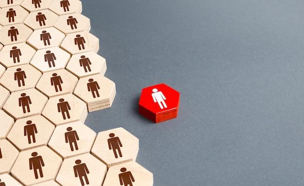 Osoba spoza ogólnej struktury firmy personalnej wyjście z projektu zwolnienie z pracy