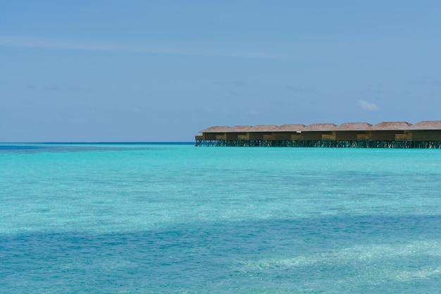Ośrodek krajobraz kokosowych docelowych wakacje