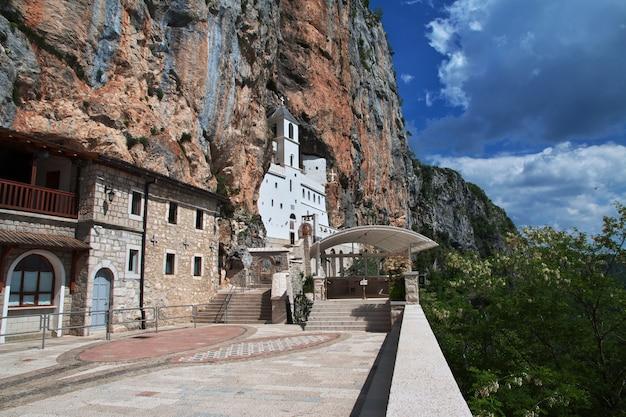 Ostrog, starożytny klasztor prawosławny w czarnogórze