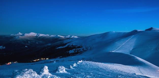 Oszałamiające wspaniałe widoki na dolinę ośrodka narciarskiego?