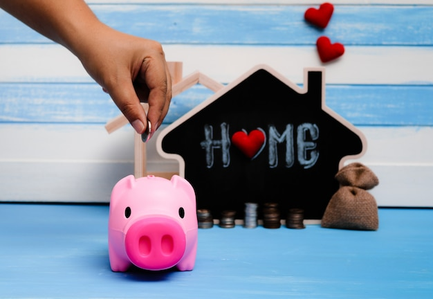 Oszczędności na sprzedaży nieruchomości, pożyczki mieszkaniowe. strategia mieszkaniowego planu hipotecznego dla budownictwa mieszkaniowego.