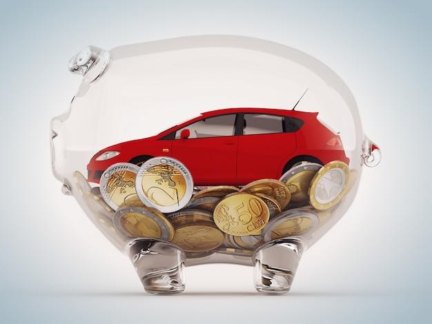 Oszczędności na zakup samochodu