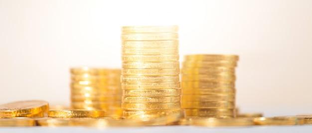 Oszczędzanie, biznes dorastać tło koncepcja