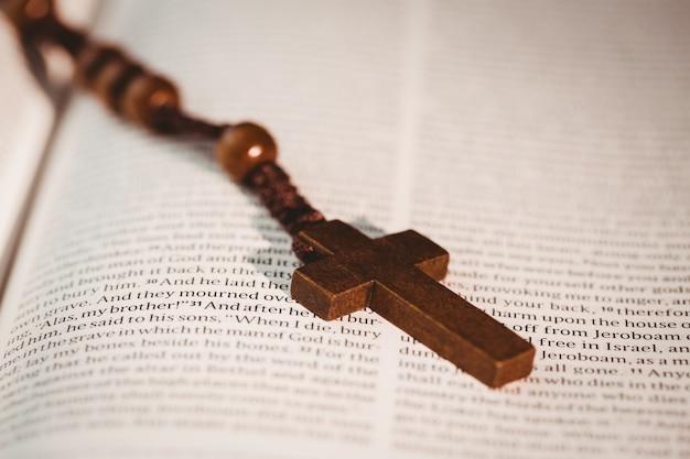 Otwórz biblię z różańca