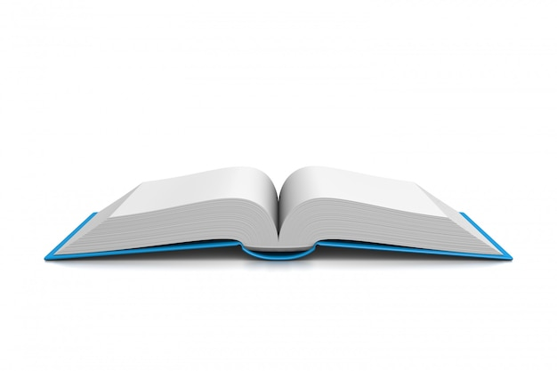 Otwórz książkę na białym