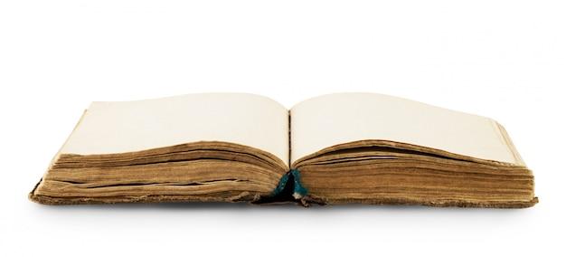 Otwórz starą książkę