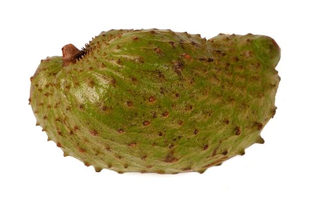 Owoc mieszczanina na białym tle