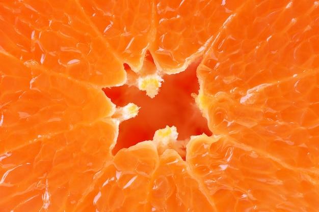 Owoce mandarynki tekstury