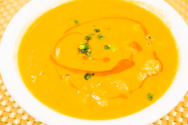 Owoce morza curry