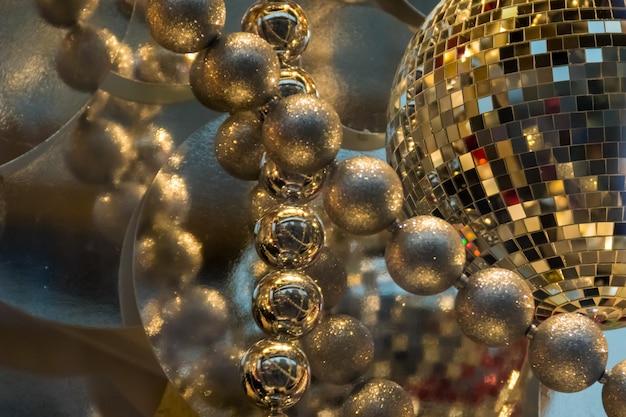 Ozdoba na święta bożego narodzenia i nowy rok. zdobiona wizytówka sklepu