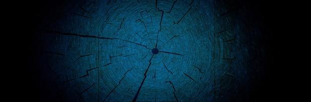Ozdobne pierścienie roku drzewa, obraz w tle