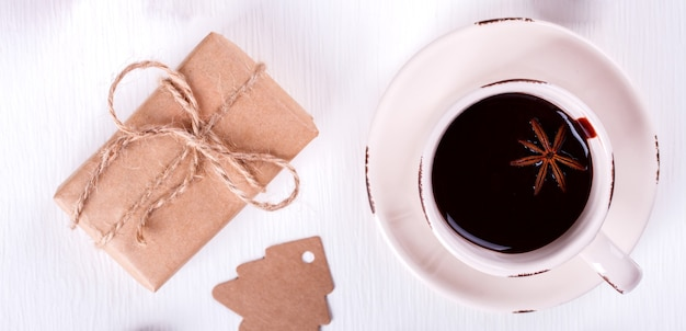 Ozdoby świąteczne i napój