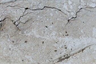 Pęknięty teksturowany beton
