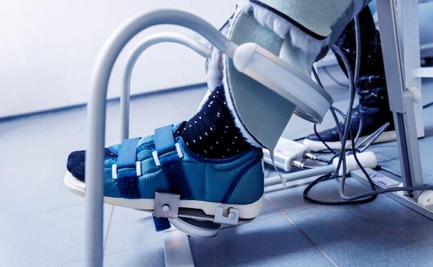 Pacjent na maszynach cpm.