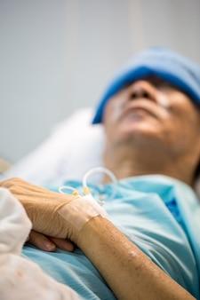 Pacjent śpi